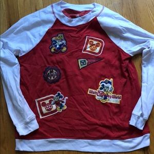 Walt Disney World Long Sleeve with Patches